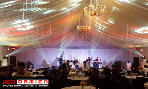 Indoor Event Lights and Special Effects for Rent