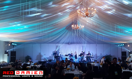 Professional Lights & Sounds for Indoor Events