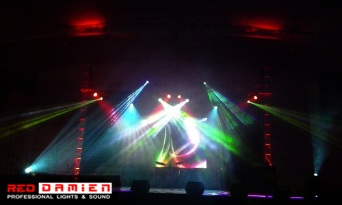 Stage Lights for Rent
