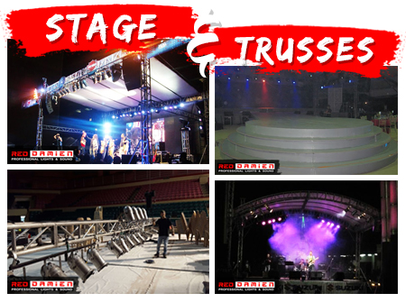 Professional Stage and Trusses Rental