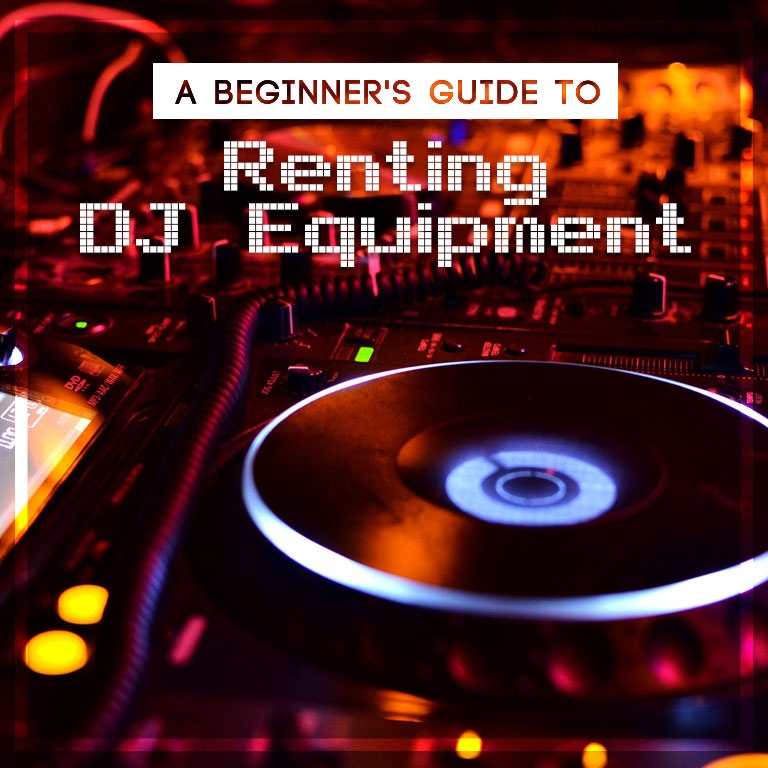 a beginner 39 s guide to renting dj equipment blog professional lights sounds rentals red. Black Bedroom Furniture Sets. Home Design Ideas