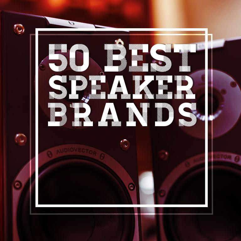 50 Best Speaker Brands | Blog | Professional Lights & Sounds